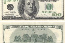 100 долларов для вклада