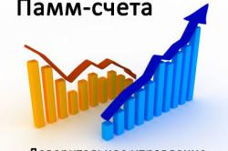Перспективы вложения капитала в ПАММ счета