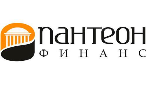 """Логотип брокерской компании """"Пантеон Финанс"""""""