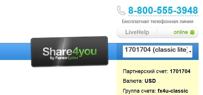 Преимущества сервиса Share4you